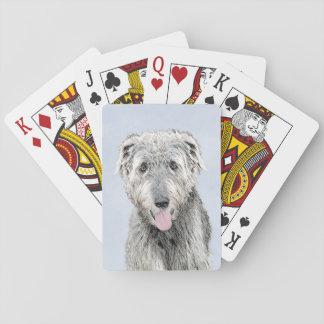 Irish Wolfhound Playing Cards