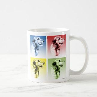 Irish Wolfhound Pop Coffee Mug