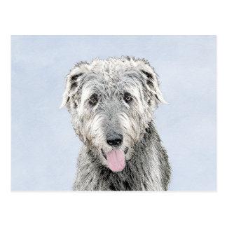 Irish Wolfhound Postcard