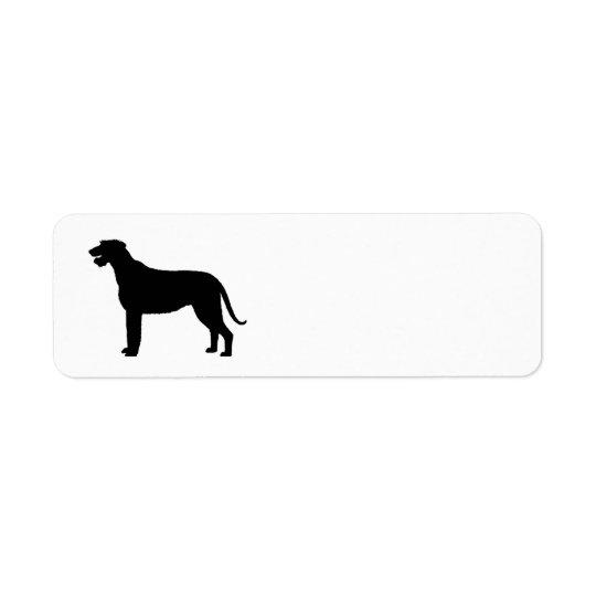 irish wolfhound silo black.png return address label