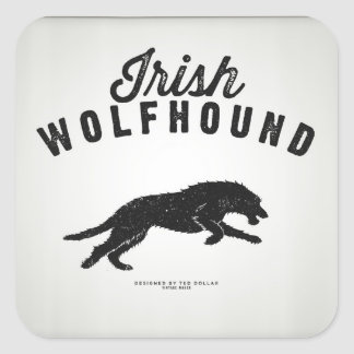 Irish Wolfhound Sticker