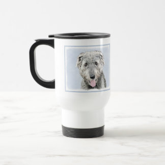 Irish Wolfhound Travel Mug