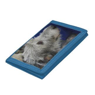 Irish Wolfhound Tri-fold Wallets
