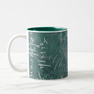 Irish wolfhound Two-Tone coffee mug