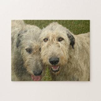 Irish Wolfhounds Photo Jigsaw Puzzle