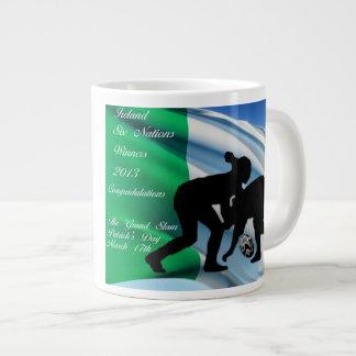 Irish women rugby mug