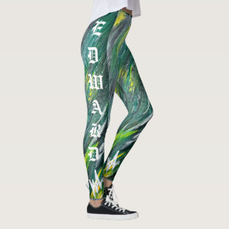 Irish Yard W/ Names Signature leggings