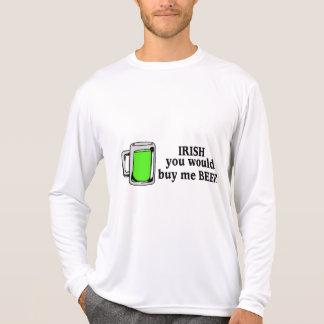 Irish You Would Buy Me Beer Green Beer T-Shirt