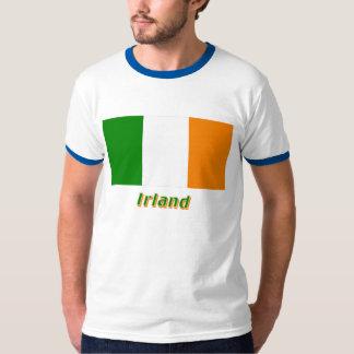 Irland Flagge mit Namen Tees
