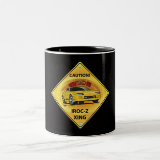 IROC84-2Black Two-Tone Coffee Mug