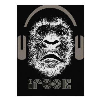 irock Gorilla Music Personalized Announcements