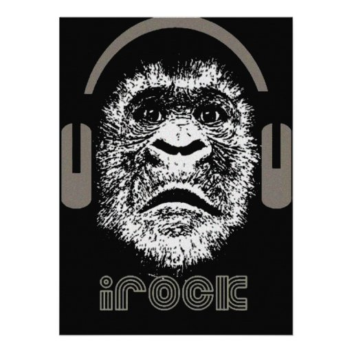irock Gorilla Music Personalized Announcements