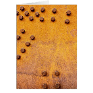 Iron and Rust Card