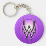 Iron Aquarius Symbol, purple