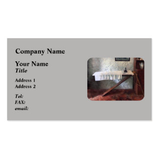 Iron Board and Iron Business Cards