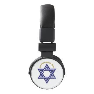 Iron Butterfly Star of David Headphones