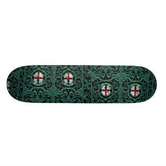 Iron cast portal, city of London, England Skate Board Deck