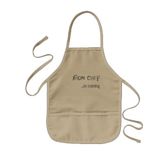 Iron Chef Apron for Kids