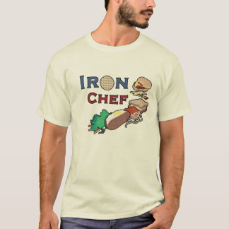 Iron Chef: Black Border T-Shirt
