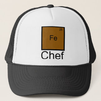 Iron Chef Element Pun T-Shirt Trucker Hat