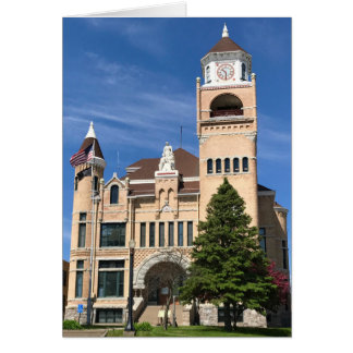 Iron County Courthouse Blank Greeting Card