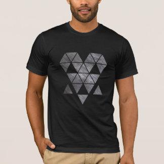 Iron creepy face men's black t-shirt HQH
