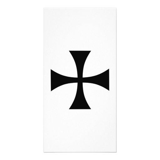 Iron cross custom photo card