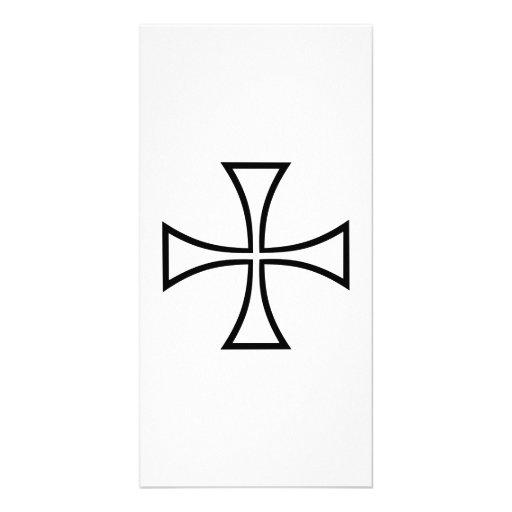 Iron cross photo cards