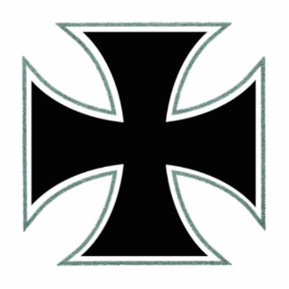 Iron Cross sculpture Photo Cut Outs