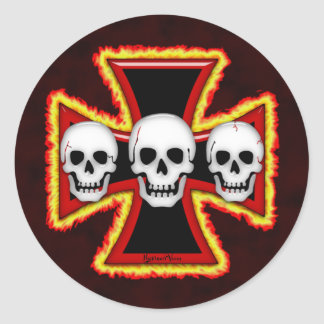 Iron Death Sticker