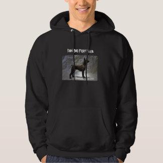 Iron Dog fight club Hooded Sweatshirt