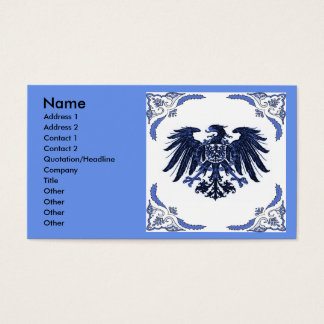 Iron eagle   Abstract Business Card