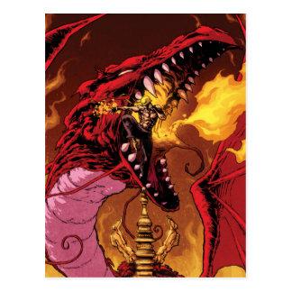 Iron Fist And Shou-Lau Postcard