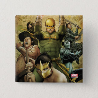 Iron Fist And The Immortal Weapons 15 Cm Square Badge