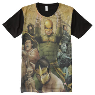 Iron Fist And The Immortal Weapons All-Over Print T-Shirt