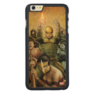 Iron Fist And The Immortal Weapons Carved Maple iPhone 6 Plus Case