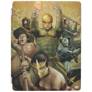 Iron Fist And The Immortal Weapons iPad Cover