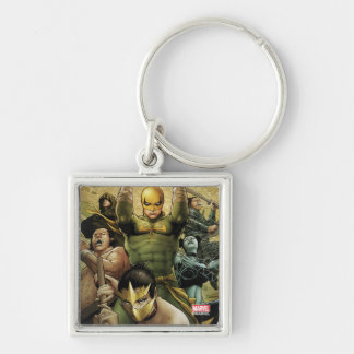 Iron Fist And The Immortal Weapons Key Ring