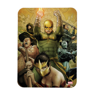 Iron Fist And The Immortal Weapons Magnet