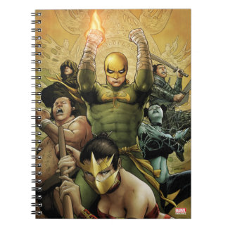 Iron Fist And The Immortal Weapons Notebooks