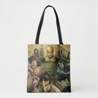 Iron Fist And The Immortal Weapons Tote Bag