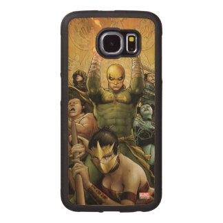 Iron Fist And The Immortal Weapons Wood Phone Case