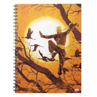 Iron Fist Balance Training Spiral Notebook