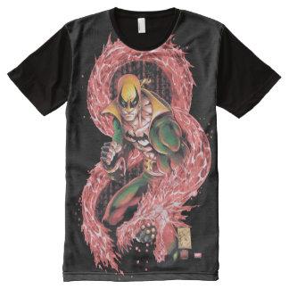 Iron Fist Chi Dragon All-Over Print T-Shirt