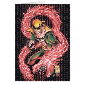 Iron Fist Chi Dragon Card