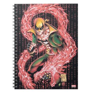 Iron Fist Chi Dragon Notebook