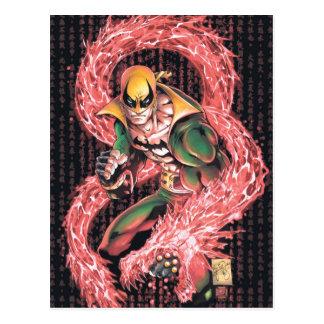 Iron Fist Chi Dragon Postcard