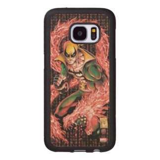 Iron Fist Chi Dragon Wood Samsung Galaxy S7 Case