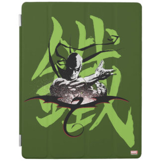 Iron Fist Chinese Name Graphic iPad Cover