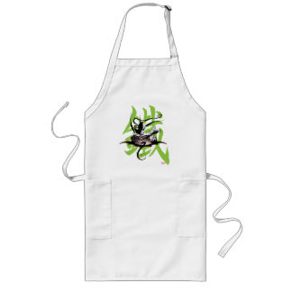 Iron Fist Chinese Name Graphic Long Apron
